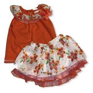 Little Lass Two Piece Outfit Size 12-18 months